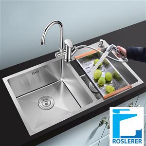 Chậu rửa ROSLERER RL04-8245 LỆCH